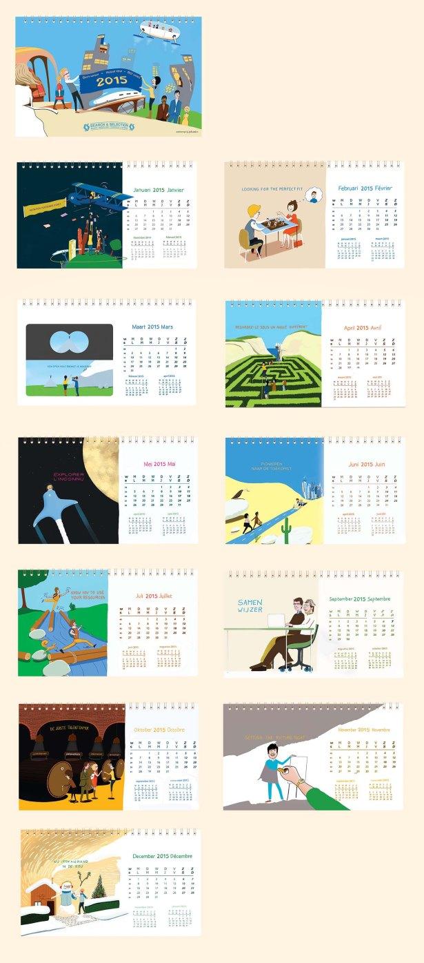 Overzicht kalender 2