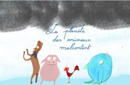 la planète ses animaux mal content - cover page